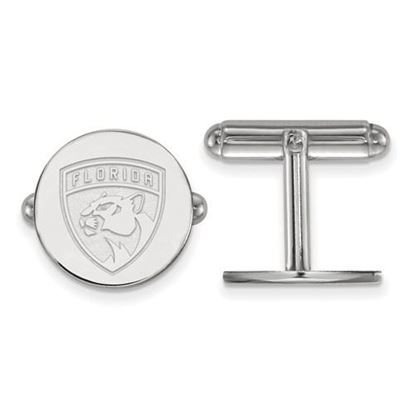 Picture of Florida Panthers® Sterling Silver Cuff Links