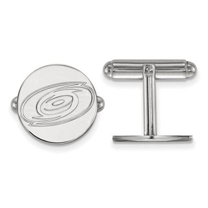 Picture of Carolina Hurricanes® Sterling Silver Cuff Links