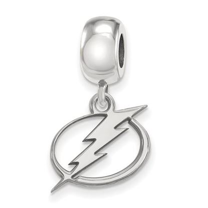 Picture of Tampa Bay Lightning® Sterling Silver Small Dangle Bead