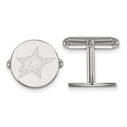 Picture of Dallas Stars™ Sterling Silver Cuff Links