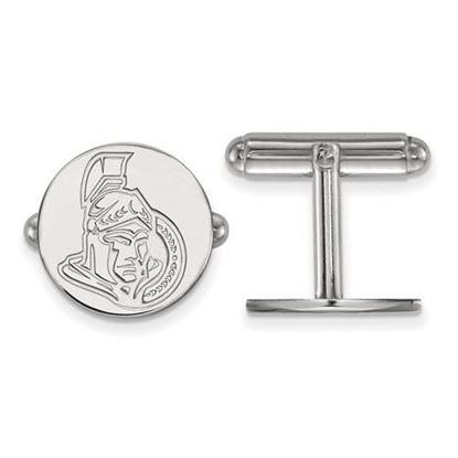 Picture of Ottawa Senators® Sterling Silver Cuff Links