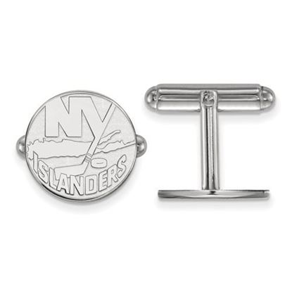 Picture of New York Islanders® Sterling Silver Gold Plated Cuff Links