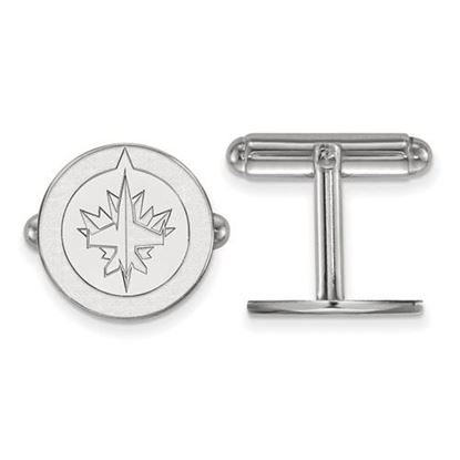 Picture of Winnipeg Jets™ Sterling Silver Cuff Links