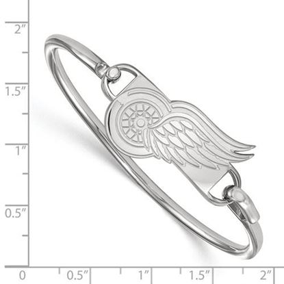 Picture of Detroit Red Wings® Sterling Silver Bangle Bracelet