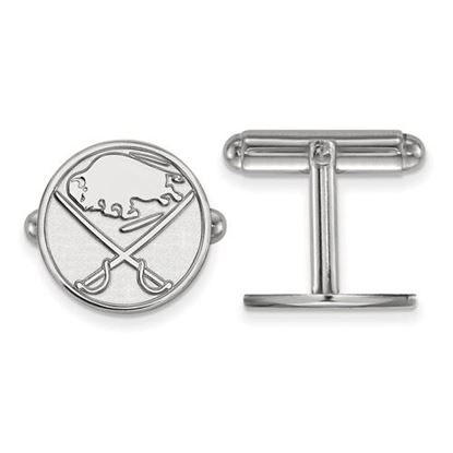 Picture of Buffalo Sabres® Sterling Silver Cuff Links
