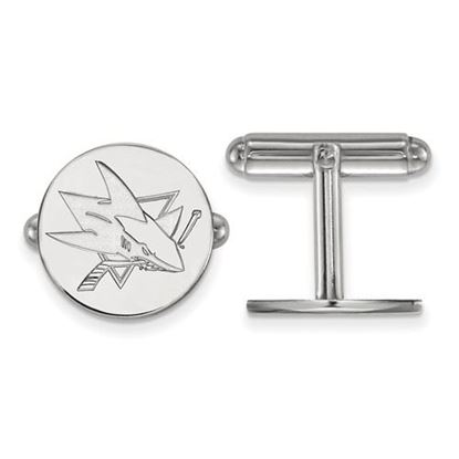 Picture of San Jose Sharks® Sterling Silver Cuff Links