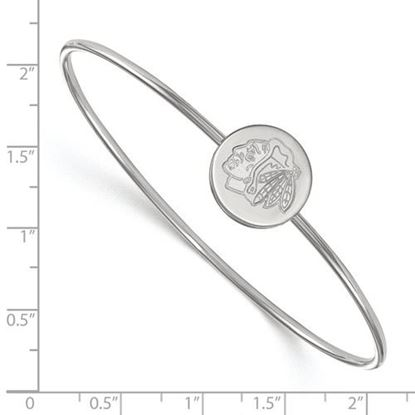 Picture of Chicago Blackhawks® Sterling Silver Bangle Bracelet