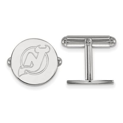 Picture of New Jersey Devils® Sterling Silver Cuff Links