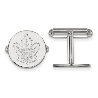 Picture of Toronto Maple Leafs® Sterling Silver Cuff Links