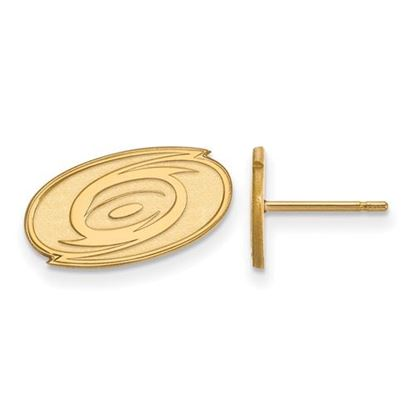 Picture of Carolina Hurricanes® 14k Yellow Gold Extra Small Post Earrings