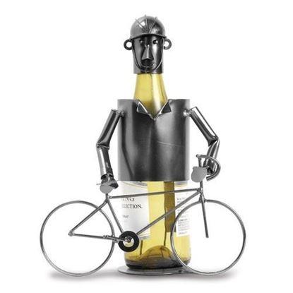 Biker Metal Wine Caddy