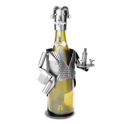 Maitre 'D Metal Wine Caddy