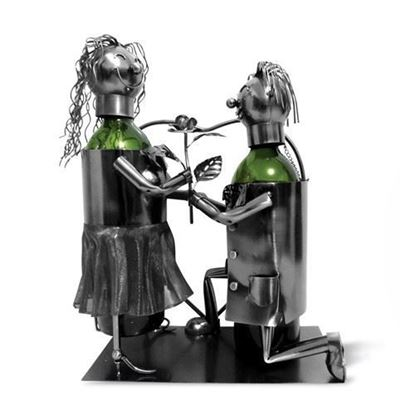 Propose Metal Wine Caddy