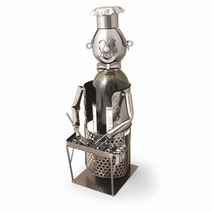 Grill Master Metal Wine Caddy