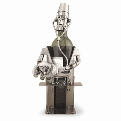 Veterinarian Metal Wine Caddy