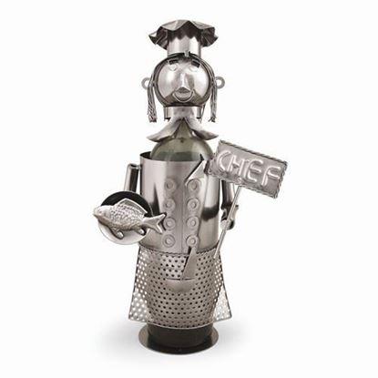 Chef Metal Wine Caddy